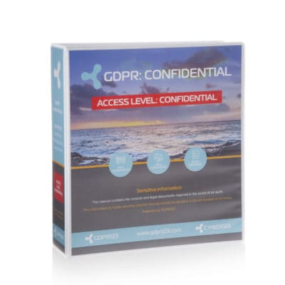 GDPR123 Confidential folder
