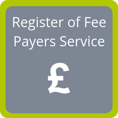 Register of Fee Payers Service
